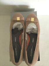 Rockport Taupe Bow Pump -  Size US9 /UK 6.5 /EUR 40 /26 cm - Brand New