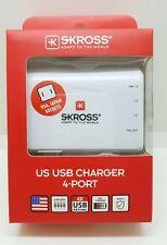 S Kross Skross 4 Port US Powerful USB charger