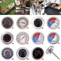 Edelstahl Grillthermometer Smoker BBQ Räucherofen Thermometer Bratenthermometer