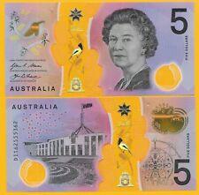 Australia 5 Dollars p-62 2016 UNC Polymer Banknote