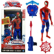 Marvel Ultimate Spiderman with Night Attack Gear Titan Hero Series Figures Toy