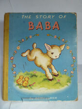 THE STORY OF BABA Written & Illustrated by BETTY LAROM c1950s (UNDATED)
