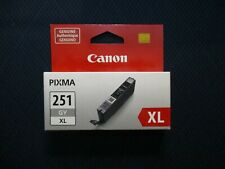NEW Canon CLI-251GYXL  Gray ink GENUINE