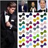 Men Classic Satin Bowtie Necktie Bow Tie Tuxedo Wedding Party Fashion Adjustable