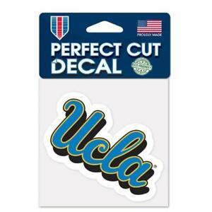 "UCLA Bruins 4""x4"" Perfect Cut Car Decal [NEW] NCAA Auto Sticker Emblem"
