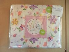 Mytex Kids Collection TWIN SHEET SET with Circular Floral Elements - Multi-Color