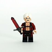 OUTSIDE BRICK Custom Devil May Cry Dante Lego Minifigure