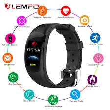 Bluetooth Heart Rate Smart Watch Tracker Fitness Monitor Bracelet Ip68