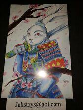 Jak's store Tessa Sketch Usagi Yojimbo #1 variant IDW virgin cover comic book