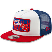 NEW ERA MLB Chicago Cubs 9FIFTY Spring Training Patch Trucker Hat Cap Snapback