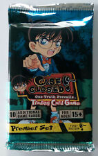 CASE CLOSED TCG Booster Pack Sealed PREMIER 1st Edition Detective Conan Score