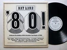 HIT LINE '80 2LP PROMO Compilation PINK FLOYD Toto JOURNEY Paul McCartney #885