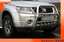 !!!+!SUZUKI GRAND VITARA 08+ TUBO PROTEZIONE ALTO BULL BAR INOX STAINLESS STEEL