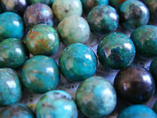 "8mm Round Bead Natural Chrysocolla 15""-16"" INCH Stones Beads !#"