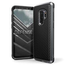 X-Doria Defense Lux Extremschutz Case Carbon Aluminium für Galaxy S9+ schwarz