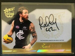 2016 CERTIFIED SIGNATURE ZACH TUOHY CARLTON #175