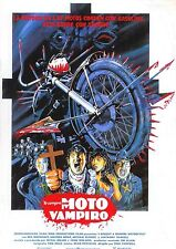 movie film repro i bought vampire motorcycle  Poster Print A3  This A Poster