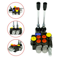 Hydraulic Directional Control Valve Tractor Loader w/ Joystick, 2 Spool, 13GPM