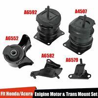 5PCS  Engine Motor & Trans Mounts For 98-02 Honda Accord V6 3.0L 3.2L Auto Trans