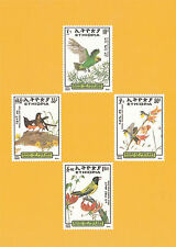Ethiopia: 1989, Birds set, Maximum card