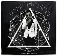 Panic! At The Disco- Photo Galaxy Flag Fabric Poster Print, 48x48