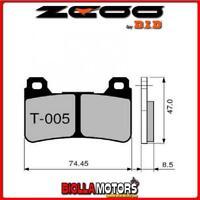 45T00500 PASTIGLIE FRENO ZCOO (T005 EX) HONDA CBR 1000 RR Fireblade (SC-57) 2007