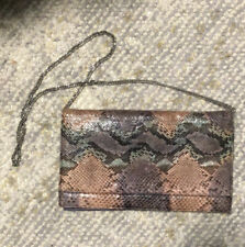 Vintage 1970's Varon Python Clutch/Shoulder Bag