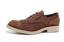 Pedro Garcia Men's Nut Castoro Perforated Oxfords 6479 Size 44