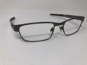OAKLEY METAL PLATE Eyeglasses Frame OX5038-0655 55-18-140 Brushed Chrome TY62