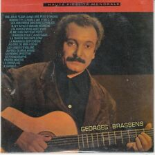 CD ALBUM CARTONNE GEORGES BRASSENS *UNE JOLIE FLEUR* (NEUF SCELLE) (23 T)