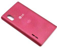 Original LG Optimus L5 E610 Akkudeckel Backcover Deckel Gehäuse Pink Rosa