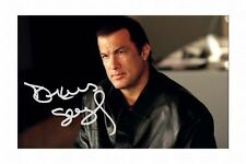 STEVEN SEAGAL AUTOGRAPHED SIGNED A4 PP POSTER PHOTO