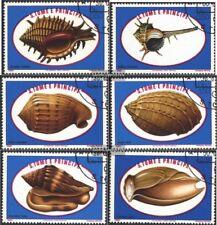 Sao Tome e príncipe 680-685 (edición completa) usado 1981 caracoles marinos