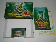 The Legend of Zelda: The Minish Cap Game Boy Advance GBA Japan CIB COMPLETE