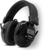 ION Tough Sounds II Hearing Protection Headphones w/ Bluetooth & AM/FM Radio