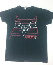 maroon 5 tour shirt, Black,Small Petite