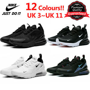 Womens Mens Air Max 270 Running Sports Trainers Sneakers Breathable Shoes UK