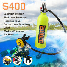 SMACO 1L  Diving Air Tank Mini Scuba Cylinder Underwater Breath Oxygen Tank Kit