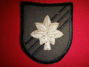 Vietnam War US 5th Special Forces Group LT COLONEL Rank Subdued Beret Patch
