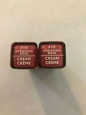 (2) Covergirl Exhibitionist Cream Lipstick, 410 Ravishing Rose