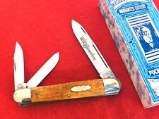 """1990 WR Case Sons Classic 6391 bone mint n box Anglo whittler 4.75"""" closed knife"""