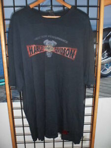 NOS Harley Davidson Mens Label Metal Potassium Wash Short Sleeve T-Shirt