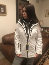 NWT Tommy Hilfiger 3-In-1 All weather Parka Jacket Medium White/Navy Winter 8-10
