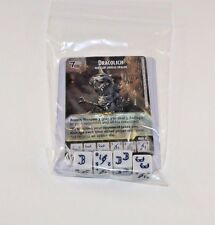 D&D Dice Masters Battle for Faerun * DRACOLICH * CUR RARE Uncommon Set + 4 Dice