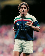 "Diego Dominguez Italy 20 Feb 2000 Rugby Photograph 8"" x 10"" (20cm x 25cm)"