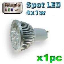 859/1# ampoule à LED 4 x 1w   GU10 blanc froid 1pc
