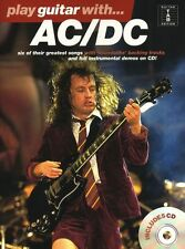 Play Guitar With AC/DC Sheet Music Book TAB CD Learn To