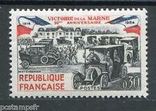 FRANCE 1964, timbre 1429, AUTOMOBILE, TAXI, VICTOIRE de la MARNE, neuf**