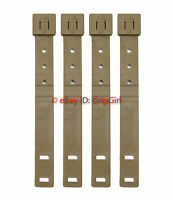4x Lot Tactical Tailor - Short Coyote MALICE Clips 4 Pack - USMC Marine FDE NEW