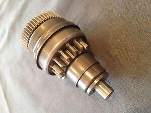 New Genuine Aprilia SCARABEO 50/ SR50 H20 Starter motor gear AP8570106